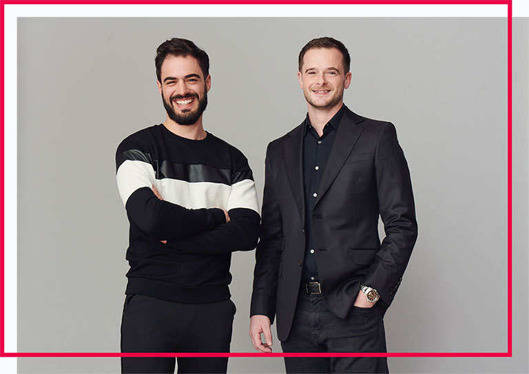 Pictured here are Julien and Sylvain, Holberton's two co-founders