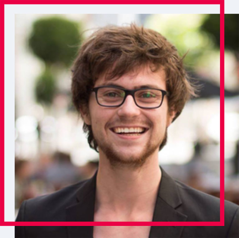 Pictured here is Florent Crivello,                         Product Manager at Uber (and Holberton Professional                         Advisor)