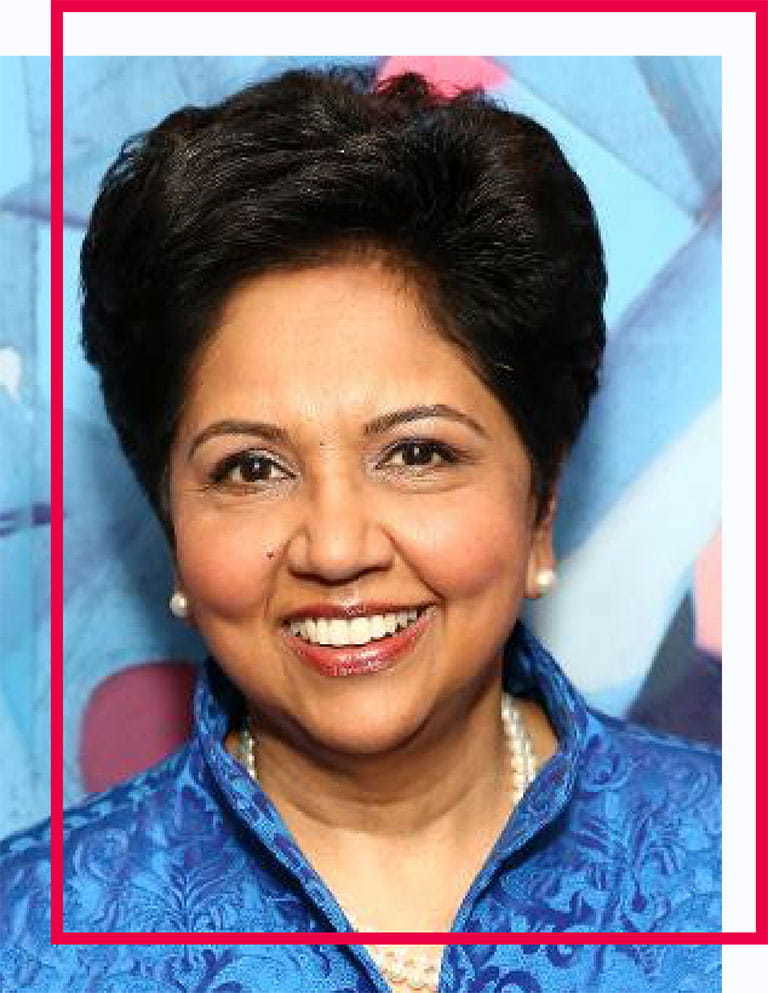 Indra Nooyi is the former CEO of PepsiCo
