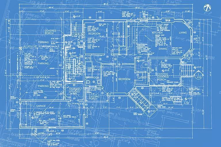 Blueprint board