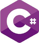 The C# logo