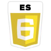 The ES6 logo