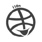 The i18n logo