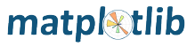 The matplotlib logo
