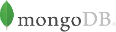 The mongodb logo