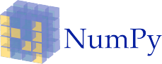 The numpy logo
