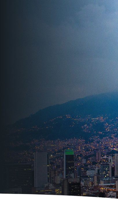 Pictured is Medellín