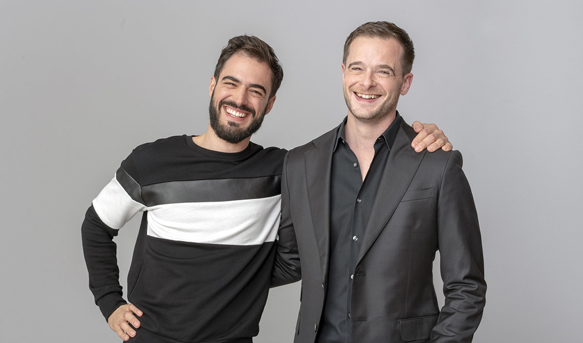 Sylvain Kalache et Julien Barbier, co-fondateurs d'Holberton