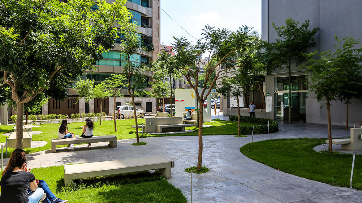 Picture of the Beirut campus