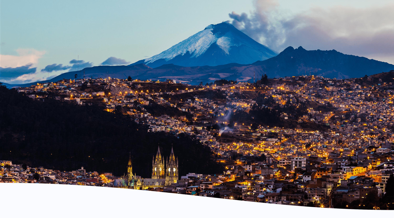 Pictured is Ecuador